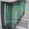Sumitomo 280 excavator door glass windshield glazing