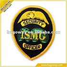 custom design woven embroidery patch