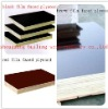 WBP glue black/brown film faced plywood for construction