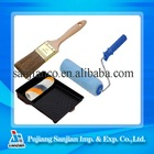 4 PCS a Set Paint Brush and Roller brushes