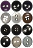 New style resin buttons/fastener