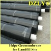 hdpe geomembrane for landfill site