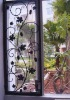 Cast Iron Ornamental on Fence