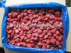 supply high qiuality Chinese new crop IQF frozen strawberry