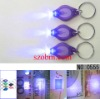 UV Purple Light LED Keychain