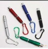 3 IN 1 laser Led pen with keychain