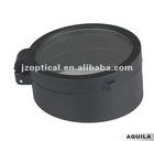 Glass cover K9 optics shield for riflescope