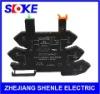 SLOKE din rail relay socket SNC05 8A NEW