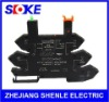 SLOKE din rail relay socket SNC05 8A NEW