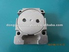 carbon steel CNC machining precision metal component