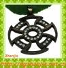 Diamond New design black hollow cheap cross pendants