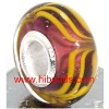 beautiful european murano lampwork charms HMB0305