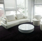 commercial leather sofa 2615