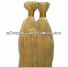 remi cuticle bulk hair machine made 100g/piece for sale