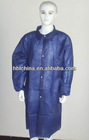disposable nonwoven chemistry lab coats