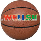Official size&weight size 7 laminated PVC/PU basketball