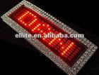Digital DIY customerized led panel t shirt with diamond