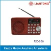Radio Speaker with number key