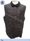 Men's casual padded sleeveless vest with zipper