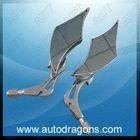 ADT-SF006A chrome motocycle rearview mirror