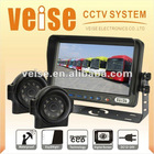 7 inch Digital Color Reversing Camera System for Trucks