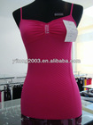 fashion knitted camisole with rid