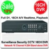 16CH Full D1 Stand-alone DVR 16 Channel DVR 3G Support iPhone, Blackberry, Android, etc, Full Realtime