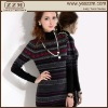 Lady Jacquard 100% Pure Cashmere Dress