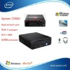 Library PC station,Qotom-T250C4 D2500 processor,with 4 com ports,Tablet pc, desktop comptuer,dual network card,