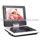 9 inch Portable DVD with Earphone jacks /av in-output jack