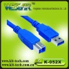 fast data transfer speed,AM TO BM USB 3.0 cable