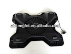 2012 Top sale new adjustable USB laptop cooler pad