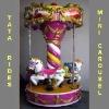 fair ground amusement rides mini carousel