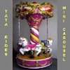 fair ground amusement rides mini carousel