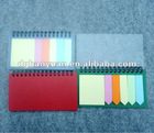 2013 new HOT SALES sticky memo pad notebook