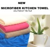 80% polyester&20%Polyamide Fabric mcrofiber kitchen towel