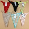 0.11USD Ladies Sexy Stock Cheap Lace Hot G String Pictures, Panty (kcnk025)