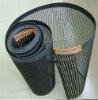 PTFE 4*4mm black open mesh conveyor belt