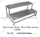 304 or 316L Stainless Steel skid resistance ladder