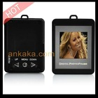 "Grey 1.5"" LCD screen keychain Digital Photo Frame with 8MB Flash Memory can Store up to 107 Photos"