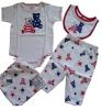 2013 100%Cotton Baby gift set (baby wear, infant wear,new born wear)
