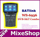 digital satellite finder meter Satlink WS-6936 DVB-S&T Combo Instrument with Spectrum Analyzer satlink finder