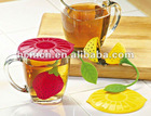 Hot Sell Food Grade Silicone Tea Strainer
