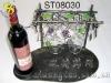 wire wine display racks