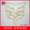 2012 fashion imitation diamond necklace