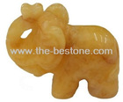 Gemstone Carving Elephant