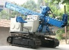 Crawler jet grout drill