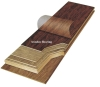 Waterproof solid wood flooring
