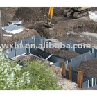 Construction site Temporary Protection Sheets(PP corrugated sheet)