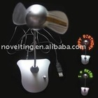 Light up fan, USB Lighting promotional Fan, Lighting LOGO fans